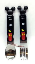 Disney Mickey Mouse Stainless Steel Fork & Spoon 2pcs