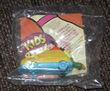 1995 Goofy and Max's Adventures Burger King Toy Car - Yellow