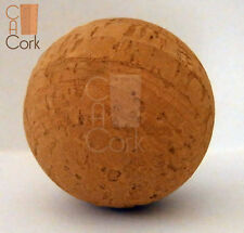 Cork Ball Natural - 50 mm - football, fishing and others (1 ball per packet)