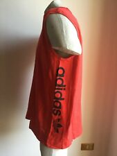 MAGLIA ADIDAS CANOTTA CORSA TANK TOP RUNNING JERSEY ATHLETIC VEST SIZE XL