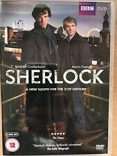 Benedict Cumberbatch SHERLOCK ~ SEASON 1 2010 BBC Holmes Detective Series UK DVD
