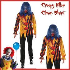 The Killer Clown Adult Costume Halloween Party Fancy Dress Standard