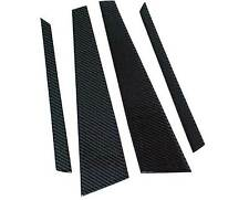 REAL CARBON FIBER DOOR PILLAR PANELS For AUDI A4 B6 B7 a076B