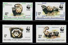 SELLOS TEMA WWF KAZAJISTAN  1999 FAUNA  4v.