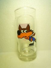 GREAT COCA COLA GLASS 4. OLYMPIC GAMES 1984 SARAJEVO VUCKO MASCOT EX RARE