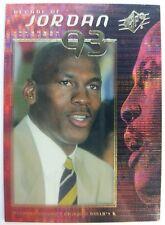 Michael Jordan 1999-00 UPPER DECK SPX DECADE OF JORDAN #J5 HOLOFOIL PRISM INSERT