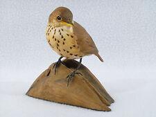 Danbury Mint Baby Songbirds Wood Thrush Bird Figurine