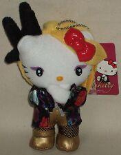 "Hello Kitty X Japan Yoshiki Yoshikitty Mascot Plush Doll 6.1"" 15.5cm Sanrio 2015"