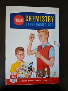 VINTAGE 1960'S GILBERT CHEMISTRY EXPERIMENT LAB NO 12016
