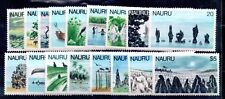 Nauru 1978 Definitive MNH set SG174-190 WS8764