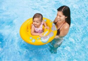 Intex My Baby Float Ring Ages 1-2 Year Baby Pool Tube