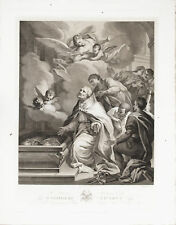 Incisione Originale - C. Dellarocca POMPEO BATONI
