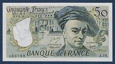 FRANCE - 50 FRANCS QUENTIN DE LA TOUR Fayette n°67.4 de 1979 en NEUF A.14 483709