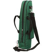 Brand New  Senior Trumpet Soft Case Nylon Gig Bag Crossbody Portable Green
