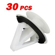 30 Exterior Trim Panel Body Moulding Cowl Retainer Nylon Clips for Mazda 2 3 5 6