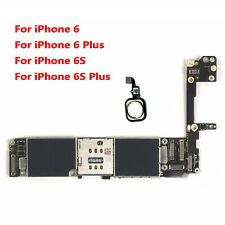 Main Motherboard  w/ Touch ID For iPhone 6 6P 6S 6S Plus 64GB Unlock Logic Board