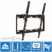 Wall Mount TV Bracket Slim Tilt Flat 29 32 34 37 39 42 49 50 inch LCD LED PLASMA