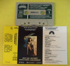 MC soundtrack FLASHDANCE 1983Irene Cara Kim Carnes Donna Summer no cd lp vhs