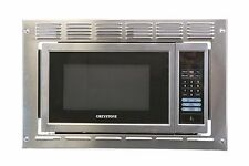 New GREYSTONE Stainless Built-in Microwave 0.9 Cu Ft Trim Kit RV Motorhome