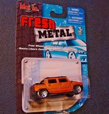 MAISTO Fresh Paint: Copper Hummer, Black Top.  Die-Cast Vehicle NEW-SEALED!