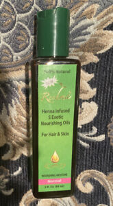 Reshma Henna Infused 5 Exotic Nourish Oils For Hair And Skin - Normal 3oz
