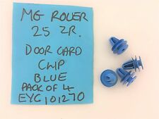 Rover 25 MG ZR door casing clips blue pack of four EYC101270