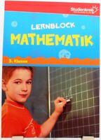 Lernblock Mathematik + Mit Lösungen + Rechnen Training Profi Nachhilfe 3.Klasse