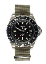 MWC GMT 300m   Quartz Military Watch   Screw Down Crown & Case Back   Date