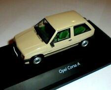 car 1/43 SCHUCO 03412 OPEL CORSA A 3doors 1982 BEIG NEW BOX