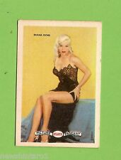 #D160. 1958-64  ATLANTIC PETROLEUM FILM STARS CARD #23  DIANA DORS