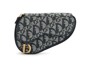 Christian Dior Trotter Zippered Pouch Saddle Bag