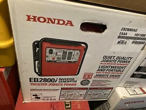 *NEW* Honda 2800w Portable Industrial Generator with Eco-Throttle ( EB2800i )