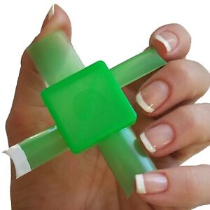 French Tip Dip Nails Limited Edition Green French Manicure & Pedicure Tool Kit