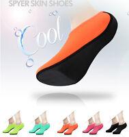 NEW Spyer Skin Shoes Water Aqua Socks Beach Swim Yoga Pool Exercise Slip On Surf