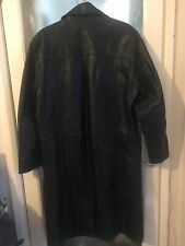 BNWT Ben Sherman Mens Lined Black Suede Leather Jacket Size L RRP £125+