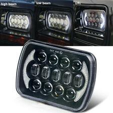 "1pcs7X6"" 5X7"" LED Hi-Lo phares pour Chevrolet Jeep Cherokee XJ 105W Noir 105w"