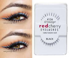NIB~ Red Cherry #104 False Eyelashes BOTTOM UNDER AUTHENTIC Strip EMMA
