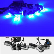 16 LED Strobe Flash Lights Auto Car Truck Emergency Flashing Warning Light Blue