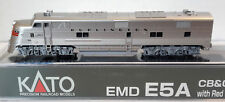 N Scale KATO E5A 'CB&Q w/Red Nose Stripes' DCC Ready Item #176-5404