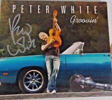 Peter White - Groovin' [ CD] 100% AUTHENTIC AUTOGRAPHED BY PETER WHITE