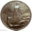 "Vittorio Emanuele III (1 Cent. ""Prora"" 1914) FDC."