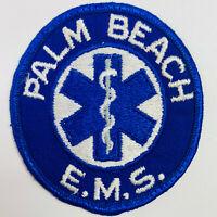 Palm Beach EMS Emergency Medical Services Florida FL Patch (A8)