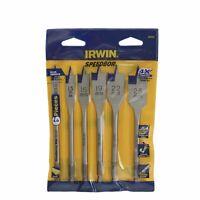 Irwin Speedbor Spade Bit Set - USA Brand
