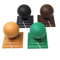 """COMPOSITE FENCE POST CAP AND BALL TO SUIT 4"""" 100mm FENCE POST + STAINLESS SCREW"""