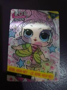 LOL # 142 ROYAL HIGH-NEY/ LIL ROYAL- NEY GLAMLIFE MAGIC MOVES  TRADING CARD