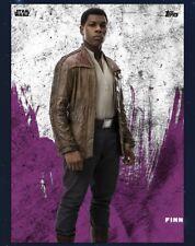 Star Wars Card Trader Last Jedi Purple Preview - Finn