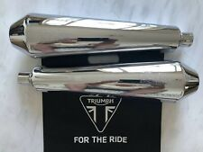 Triumph Legend 900 Competition TOR Silencers A9601011/A9601012 Thunderbird