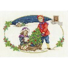 DMC CHRISTMAS 2015 THE CHRISTMAS TREE CROSS STITCH KIT - NEW BK1581