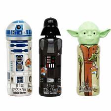 Disney StarWars Bubble Set- Darth Vader, Yoda, R2D2 8 FL OZ w Wand