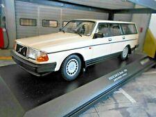 Volvo 240gl 240 GL Break Kombi blanc white 1986 nouveau MINICHAMPS 1:18